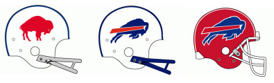 Buffalo Bills Helmet Evolution