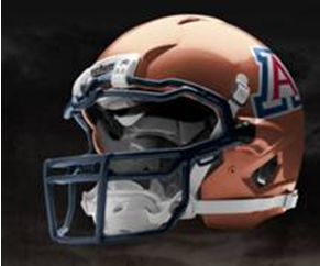 Arizona New Helmet Copper