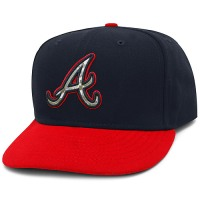 Atlanta Braves Stars and Stripes Camouflage Cap 2012