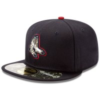 Boston Red Sox Stars and Stripes Camouflage Cap 2012