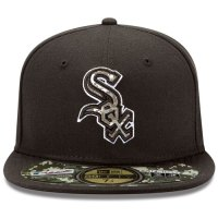 Chicago White Sox Stars and Stripes Camouflage Cap 2012