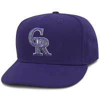 Colorado Rockies Stars and Stripes Camouflage Cap 2012