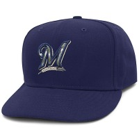 Milwaukee Brewers Stars and Stripes Camouflage Cap 2012