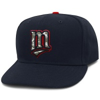 Minnesota Twins Stars and Stripes Camouflage Cap 2012