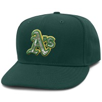 Oakland Athletics Stars and Stripes Camouflage Cap 2012