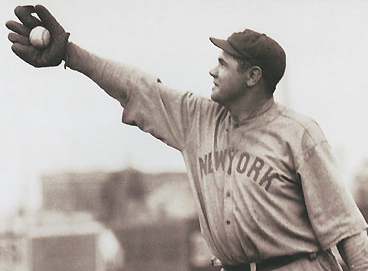 Babe Ruth 1920 New York Yankees
