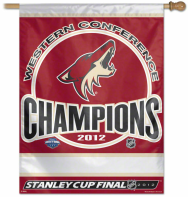 Phoenix Coyotes 2012 Western Conference Champions flag