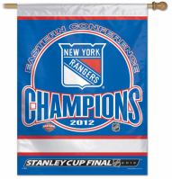 New York Rangers 2012 Eastern Conference Champions sign