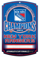 New York Rangers 2012 Eastern Conference Champions flag