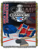 New York Rangers 2012 Stanley Cup Champions blanket