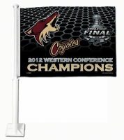 Phoenix Coyotes 2012 Western Conference Champions car flag