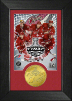 Phoenix Coyotes 2012 Stanley Cup Final 8x10 print with Devils vs Coyotes finals coin