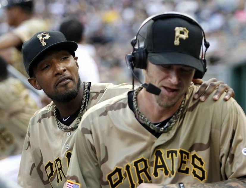 competitive price 0e331 18e36 Pittsburgh Pirates Camouflage Jerseys 2012   Chris Creamer's ...