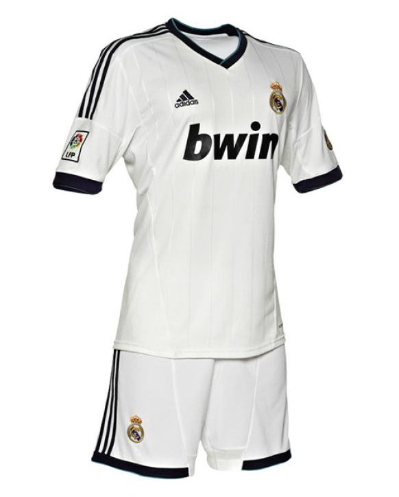 New Real Madrid Home Uniform Kit 2012-2013