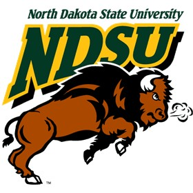 NDSU North Dakota State University Bison Old Logo