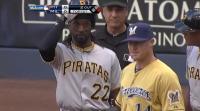 Milwaukee Cerveceros Brewers vs Pittsburgh Pirates Piratas Spanish Uniforms 2012